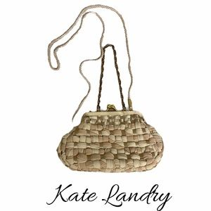 Kate Landry Woven Evening Bag